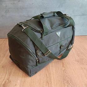 Воєнна дорожня сумка транспортна індивідуальна CARGO 50 літрів Олива (транспортна військова)