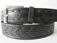 """Ремень мужской брючный шпенек (кожа, 35 мм.) №М17739   """"Remen"""" LM-638"""