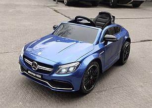 Дитячий електромобіль Mercedes M 4010EBLRS-4, синій лак