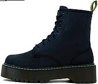 Женские ботинки Dr. Martens Jadon Blue без меха, Др.Мартенс 37