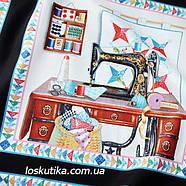 32007 Шитье и рукоделие (купон). Ткань американский хлопок. Текстиль для шитья и декорирования., фото 2