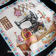 32007 Шитье и рукоделие (купон). Ткань американский хлопок. Текстиль для шитья и декорирования., фото 4
