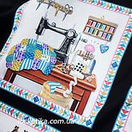 32007 Шитье и рукоделие (купон). Ткань американский хлопок. Текстиль для шитья и декорирования., фото 5