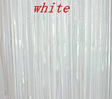 Дождик для фотозоны, белый, матовый - (длина 2,45 метра, ширина 92см), фото 3