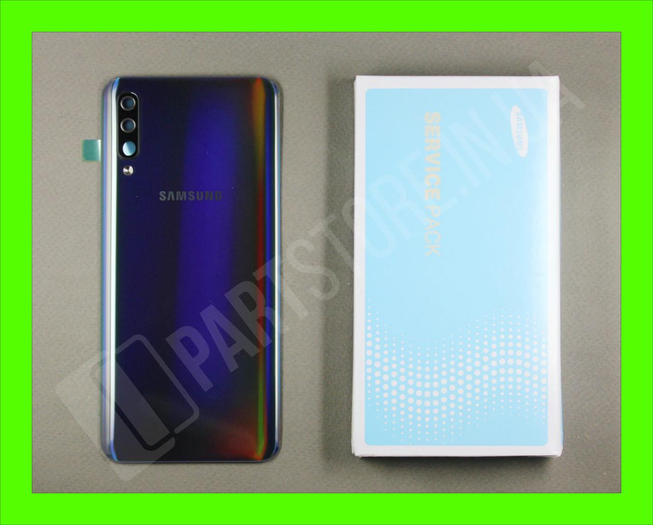 Cервисная оригинальная задняя Крышка Samsung A505 Black A50 2019 (GH82-19397A)