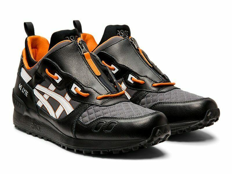 Мужские кроссовки ASICS GEL-LYTE MT ZIP Black/White/Orange (1191A143-001) Оригинал
