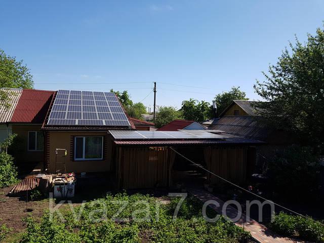 Солнечная электростанция зеленый тариф