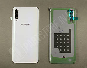 Cервисная оригинальная задняя Крышка Samsung A505 White A50 2019 (GH82-19397B), фото 2