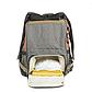 Рюкзак для Мамы на Коляску для Детских Принадлежностей Оригинал Machine Bird (078) Розовый с Серым, фото 6