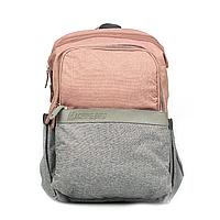 Рюкзак для Мамы на Коляску для Детских Принадлежностей Оригинал Machine Bird (078) Розовый с Серый
