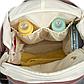 Рюкзак для Мамы на Коляску для Детских Принадлежностей Оригинал Machine Bird (078) Розовый с Серым, фото 7