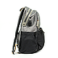 Рюкзак для Мамы на Коляску для Детских Принадлежностей Оригинал Machine Bird (078) Серый с Черным, фото 3