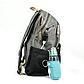 Рюкзак для Мамы на Коляску для Детских Принадлежностей Оригинал Machine Bird (078) Серый с Черным, фото 4