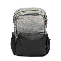 Рюкзак для Мамы на Коляску для Детских Принадлежностей Оригинал Machine Bird (078) Серый с Черным