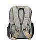 Рюкзак для Мамы на Коляску для Детских Принадлежностей Оригинал Machine Bird (078) Серый с Черным, фото 5
