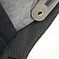 Рюкзак для Мамы на Коляску для Детских Принадлежностей Оригинал Machine Bird (078) Серый с Черным, фото 10