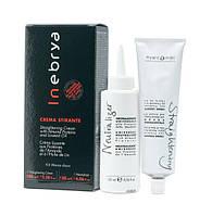 Набор для химического выпрямления волос Inebrya Straightening Cream Kit 100мл + 120мл (6355)