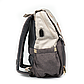 Рюкзак для Мамы на Коляску для Детских Принадлежностей Оригинал Machine Bird (076) Белый с Серым, фото 3