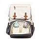 Рюкзак для Мамы на Коляску для Детских Принадлежностей Оригинал Machine Bird (076) Белый с Серым, фото 7