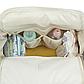 Рюкзак для Мамы на Коляску для Детских Принадлежностей Оригинал Machine Bird (076) Белый с Серым, фото 6