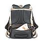 Рюкзак для Мамы на Коляску для Детских Принадлежностей Оригинал Machine Bird (076) Белый с Серым, фото 5
