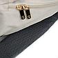Рюкзак для Мамы на Коляску для Детских Принадлежностей Оригинал Machine Bird (076) Белый с Серым, фото 9