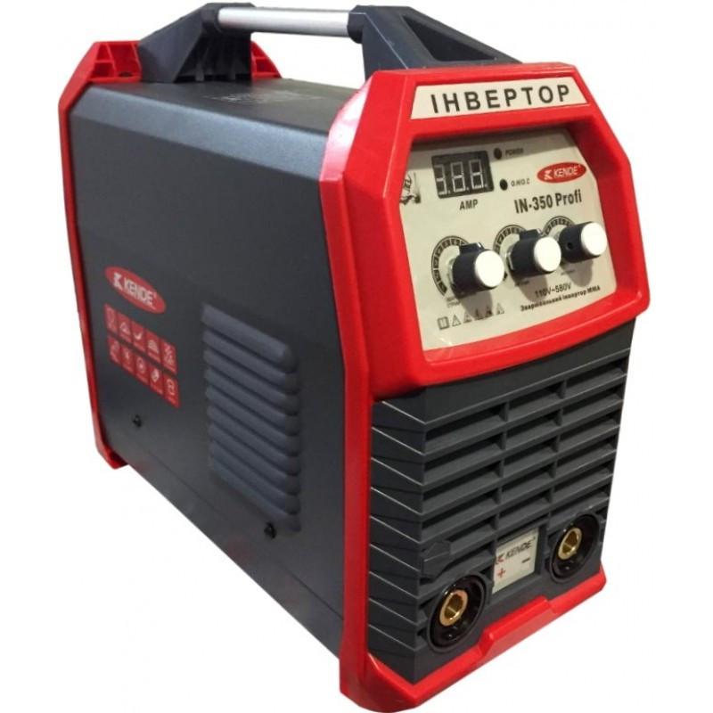 Сварочный инвертор 220/380В, цифровой дисплей, 20 - 350 А. электрод 1.6 - 5 мм. Kende IN-350 PROFI (82906)