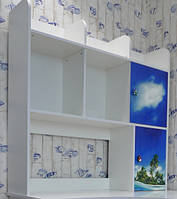 Надставка 1.2 Мульти  (Світ мебелів) 1190х305х1150мм Дельфины