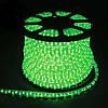 Гирлянда Дюралайт светодиодный шланг, Зеленый, круглый, 20м., фото 2