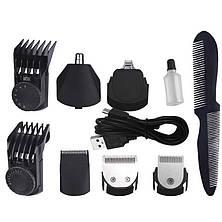 Машинка для стрижки волос аккумуляторная 7 в 1 DSP 90208, фото 2