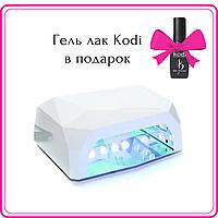 LED+CCFL Лампа для маникюра Diamond 36W Белая