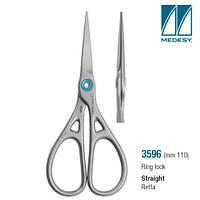 Хірургічні ножиці Ring lock 110 mm прямі .3596 (Medesy)