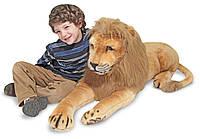 Гигантский плюшевый лев Melissa&Doug 1,9 м (MD12102)
