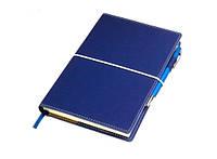 Бизнес-блокнот с ручкой Business Синий