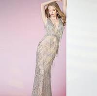 Свадебное Вечернее платье. Выпускное платье. Вечірня сукня. Вечернее платье ручной работы
