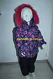 Комбинезон костюм зимний раздельный со съемной овчиной цвета в ассортименте, фото 4