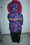 Комбинезон костюм зимний раздельный со съемной овчиной цвета в ассортименте, фото 5