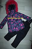 Комбинезон костюм зимний раздельный со съемной овчиной цвета в ассортименте, фото 6