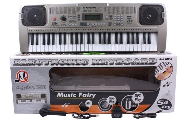 Детский музыкальный инструмент Орган MQ-807USB 54клав