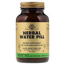 """Мочегонное средство на травах, SOLGAR """"Herbal Water Pill"""" (100 капсул)"""