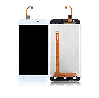 Дисплей для Oukitel U7 Plus | U7 Max с сенсорным стеклом (Белый) Оригинал Китай