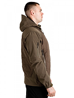 Куртка Soft Shell Gladiator Olive, фото 3