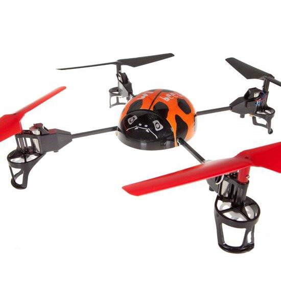 Квадрокоптер 2.4Ghz WL Toys Beetle V929 (Оранжевый)
