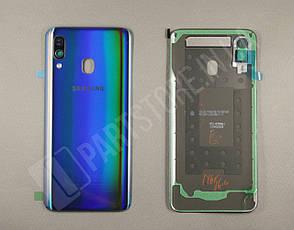 Cервисная оригинальная задняя Крышка Samsung A405 Black A40 2019 (GH82-19726A), фото 2