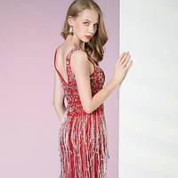 Вечерние Выпускное платье красное. Червона вечірня сукня. Облегающее вечерние платье рыбка