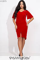 Платье асимметричного кроя Разные цвета Большие размеры Батал