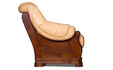 Кожаный диван Барон , раскладной диван, мягкий диван, мебель из кожи, диван, фото 3