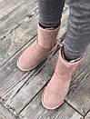 Замшевые розовые женские угги UGG до -25, фото 4