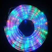 Гирлянда Дюралайт светодиодный шланг, Мульти, круглый, 10м.