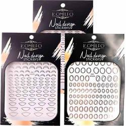 Komilfo Nail Design Sticker
